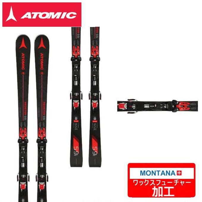 【ポイント3倍 10/4 15:00~10/11 8:59】 アトミック ATOMIC スキー板セット 金具付 メンズ REDSTER S9i + X12TL R【WAX】