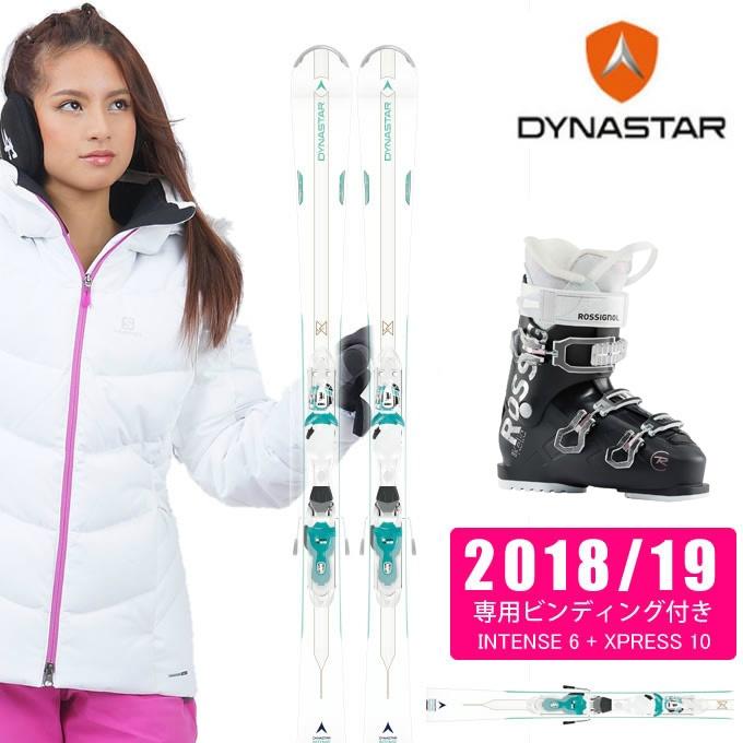 ディナスター DYNASTAR スキー板 3点セット INTENSE 6 +T-XPRESS W10 + KELIA 50 スキー板+ビンディング+ブーツ