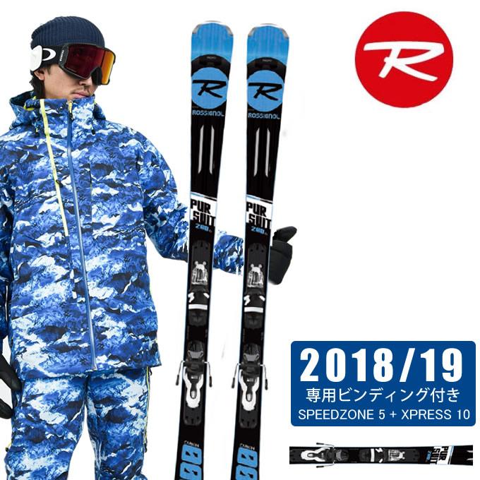 【クーポン利用で3,000円引 11/4 20:00~11/11 23:59】 ロシニョール ROSSIGNOL スキー板セット 金具付 メンズ PURSUIT200 +XPRESS 10 パシュート