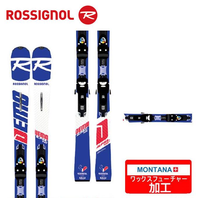 【クーポン利用で1000円引 11/18 23:59まで】 ロシニョール ROSSIGNOL スキー板 セット金具付 メンズ DEMO ALPHA Ti KNC + SPX12 KNC【WAX】