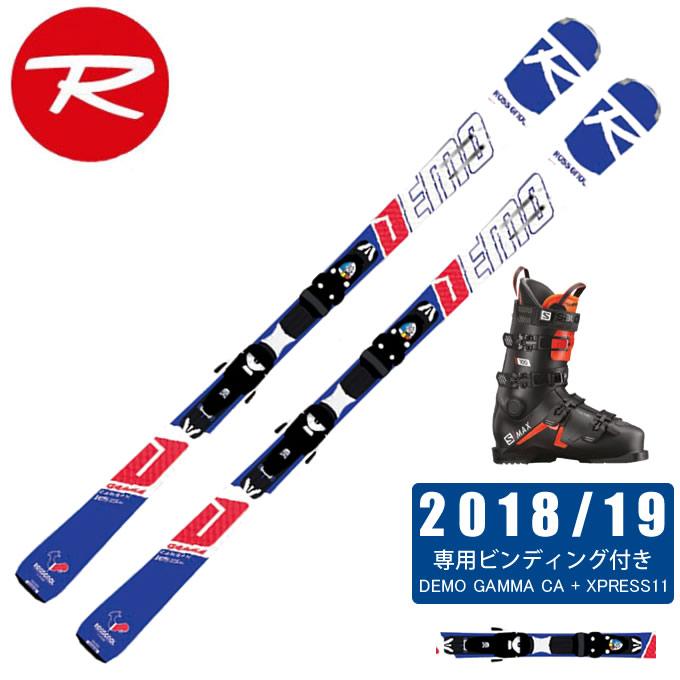 ロシニョール ROSSIGNOL スキー板 3点セット メンズ DEMO GAMMA CA + XPRESS11 + S/MAX 100