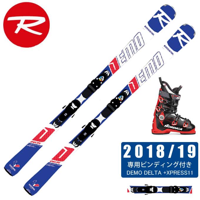 ロシニョール ROSSIGNOL スキー板 3点セット メンズ DEMO DELTA + XPRESS11 + SPEEDMACHINE 110