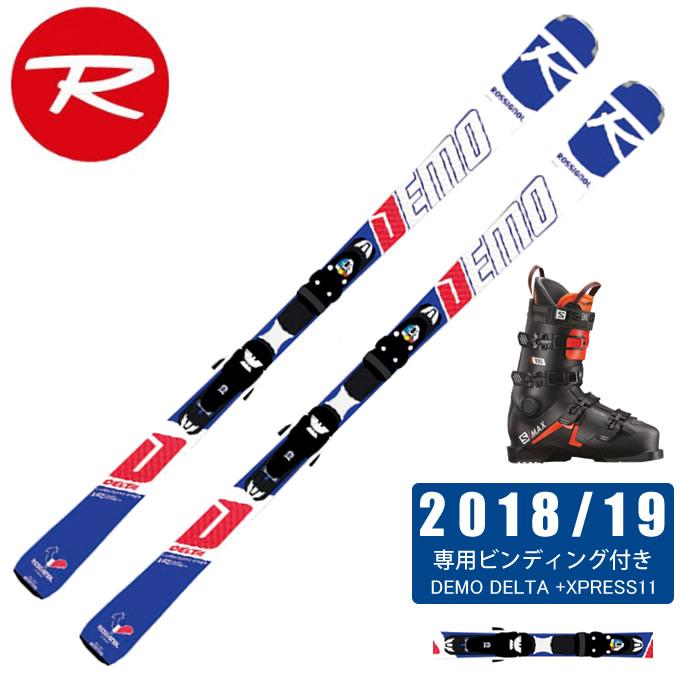 ロシニョール ROSSIGNOL スキー板 3点セット メンズ DEMO DELTA + XPRESS11 + S/MAX 100