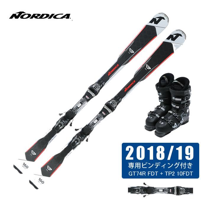 ノルディカ NORDICA スキー板 3点セット メンズ GT74R FDT + TP2 10FDT + X ACCESS 70 WIDE BB
