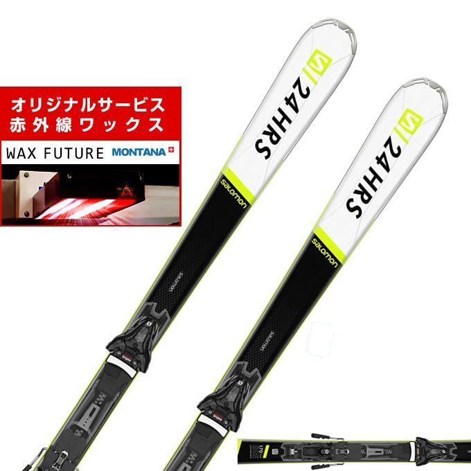 サロモン スキー板 セット金具付 メンズ 24 HOURS MAX +Z12 GW salomon【wax】
