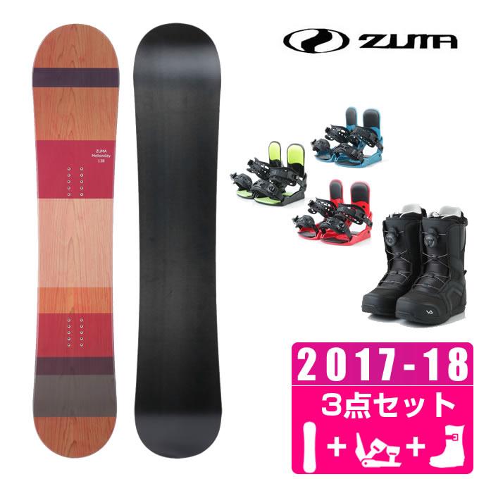【スノーボードクーポンで10%OFF 12/19 20:00~12/26 1:59】 ツマ ZUMA スノーボード 3点セット レディース MELLOWDAY + KONNECT + SUPERB ボード+ビンディング+ブーツ