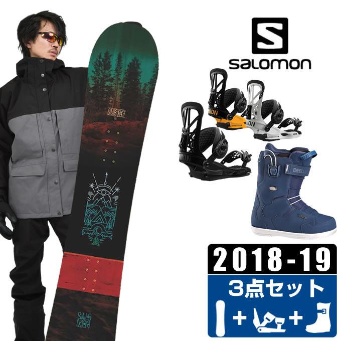 【クーポン利用で1000円引 11/18 23:59まで】 サロモン salomon スノーボード 3点セット メンズ SUBJECT MEN + FLITE PRO + ID TEAM PF ボード+ビンディング+ブーツ