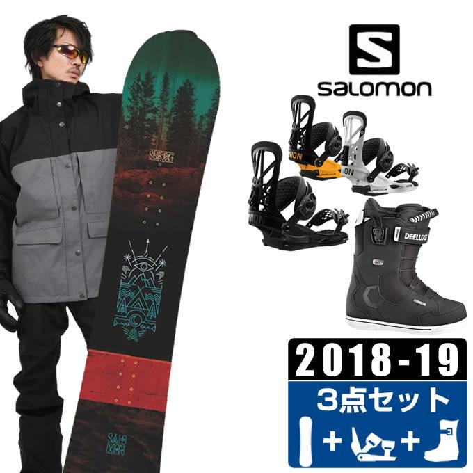 サロモン salomon スノーボード 3点セット メンズ SUBJECT MEN + FLITE PRO + ID 7.1 PF ボード+ビンディング+ブーツ