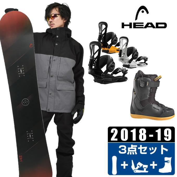ヘッド HEAD スノーボード 3点セット メンズ WISE + FLITE PRO + CRUISE CF ボード+ビンディング+ブーツ