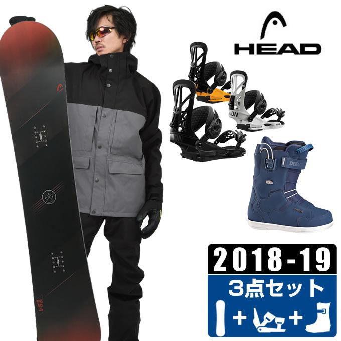 ヘッド HEAD スノーボード 3点セット メンズ WISE + FLITE PRO + ID TEAM PF ボード+ビンディング+ブーツ