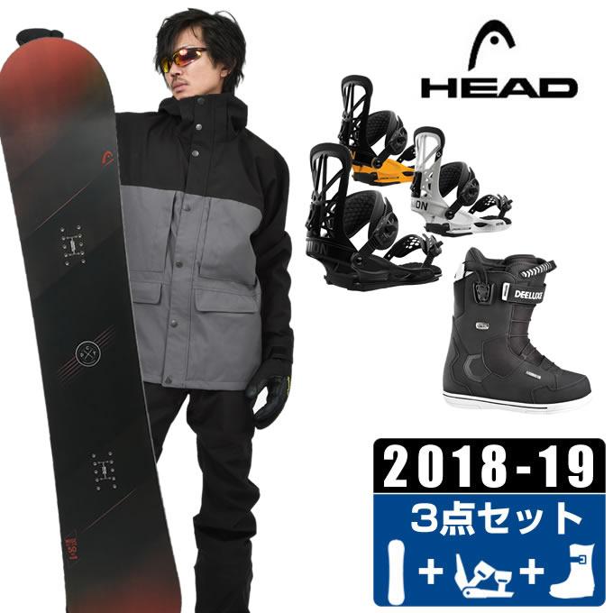 ヘッド HEAD スノーボード 3点セット メンズ WISE + FLITE PRO + ID 7.1 PF ボード+ビンディング+ブーツ