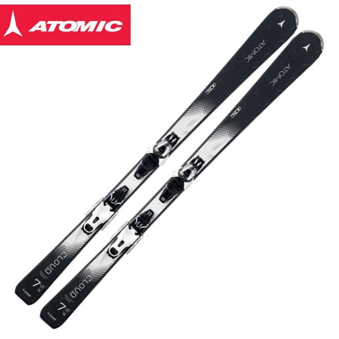 アトミック ATOMIC レディース スキー板セット 金具付 CLOUD SEVEN + E LITHIUM10 SEVEN/R 【取付無料】