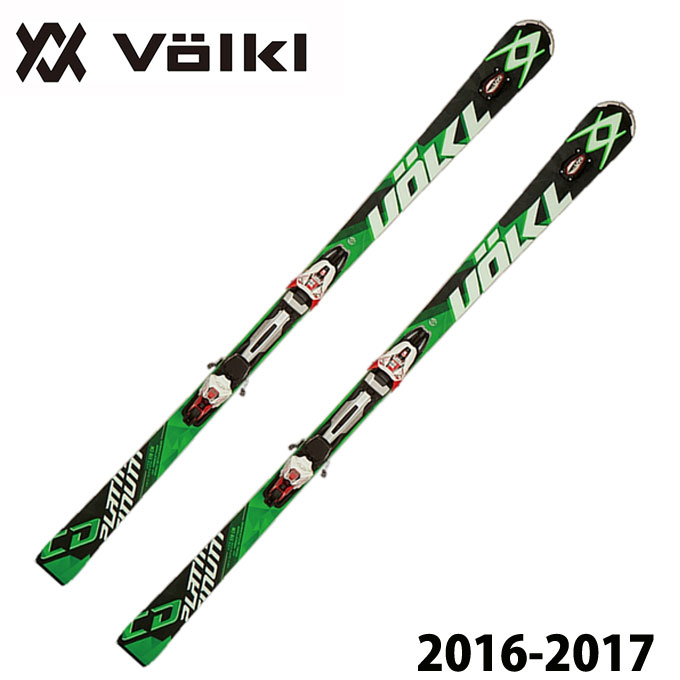 フォルクル VOLKL メンズ スキー板セット 金具付 PLATINUM CD SPEEDWALL + r-MOTION2 12.0D 【取付無料】