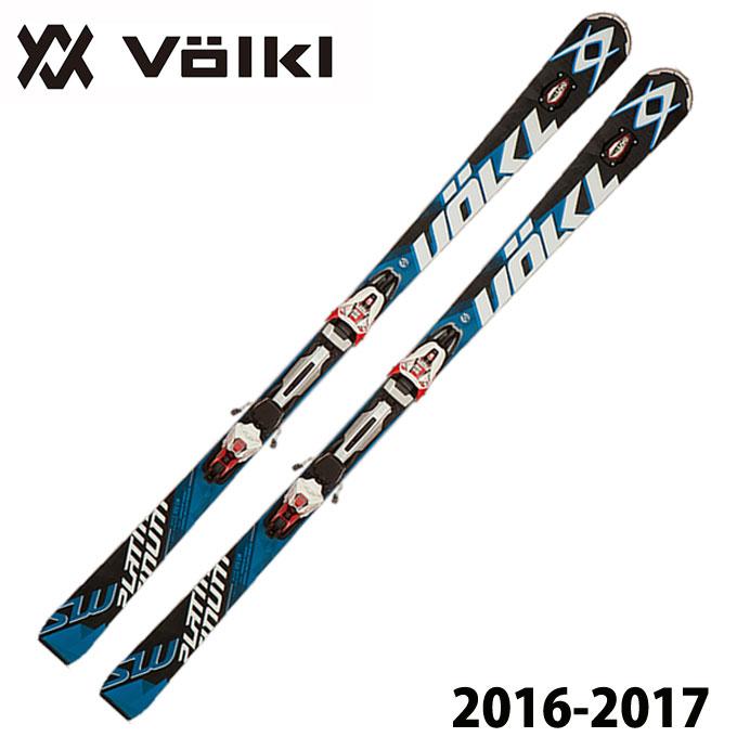 フォルクル VOLKL メンズ スキー板セット 金具付 PLATINUM SW SPEEDWALL 12.0D + rMOTION2 12.0 D 【取付無料】