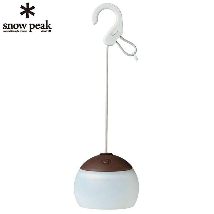 【12/1(日)限定 エントリーでP10倍!】スノーピーク snow peak LEDランタン ほおずき つち ES-070 od
