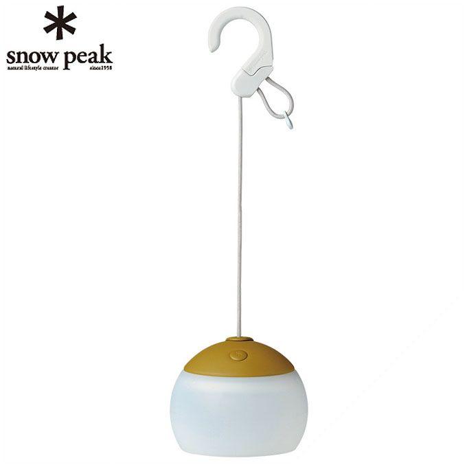 スノーピーク snow peak LEDランタン ほおずき もり グリーン ES-070GR od