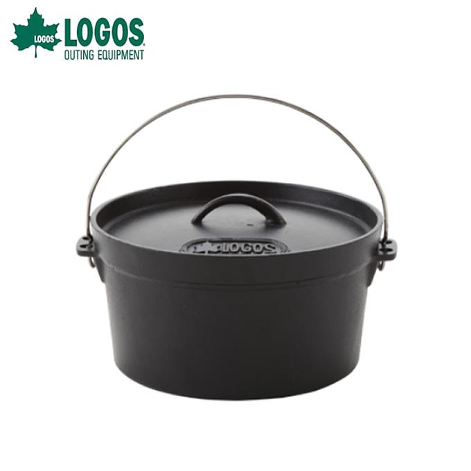 ロゴス LOGOS ダッチオーブン SLダッチオーブン10inch・ディープ バッグ付き 81062229 od