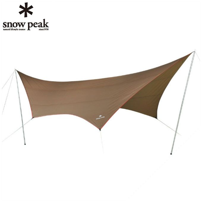 【12/1(日)限定 エントリーでP10倍!】スノーピーク snow peak タープ Tarp HD-Tarp Hexa タープシールド ヘキサ L TP-862H od