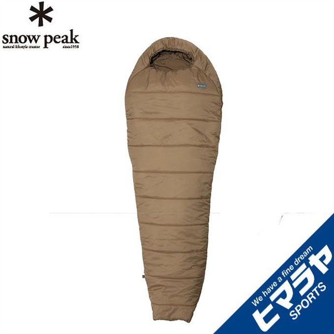 スノーピーク snow peak マミー型シュラフ ミリタリースリーピングバッグ サンドストーン BDD-050SS od