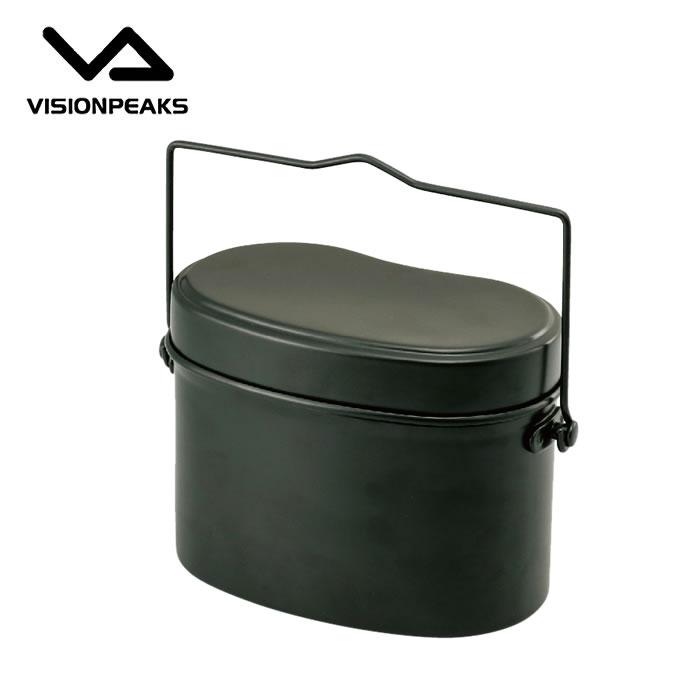 スポーツ アウトドア用品はヒマラヤで ビジョンピークス VISIONPEAKS 新発売 調理器具 od 飯ごう トラスト 兵式ハンゴウ VP160602I01