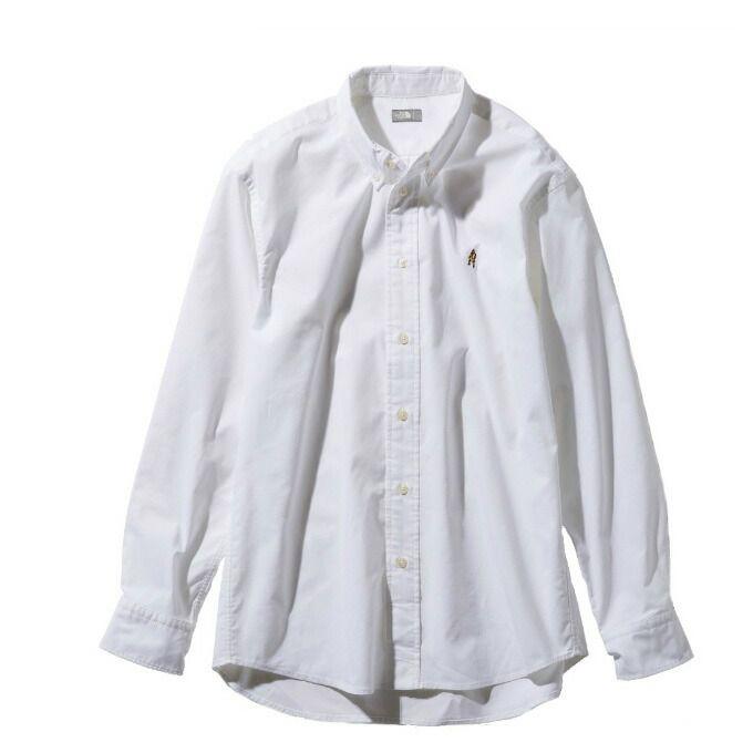 ノースフェイス 長袖シャツ メンズ L/S Him Ridge Shirt ロングスリーブヒムリッジシャツ NR11955 W THE NORTH FACE od