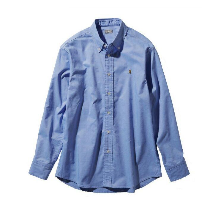ノースフェイス 長袖シャツ メンズ L/S Him Ridge Shirt ロングスリーブヒムリッジシャツ NR11955 SX THE NORTH FACE od