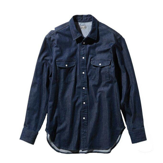ノースフェイス 長袖シャツ メンズ L/S Canterbury Bells Shirt ロングスリーブカンタベリーベルズシャツ NR11950 ID THE NORTH FACE od