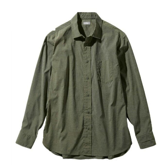 ノースフェイス 長袖シャツ メンズ L/S Vernal Shirt ロングスリーブバーナルシャツ NR11958 NL THE NORTH FACE od