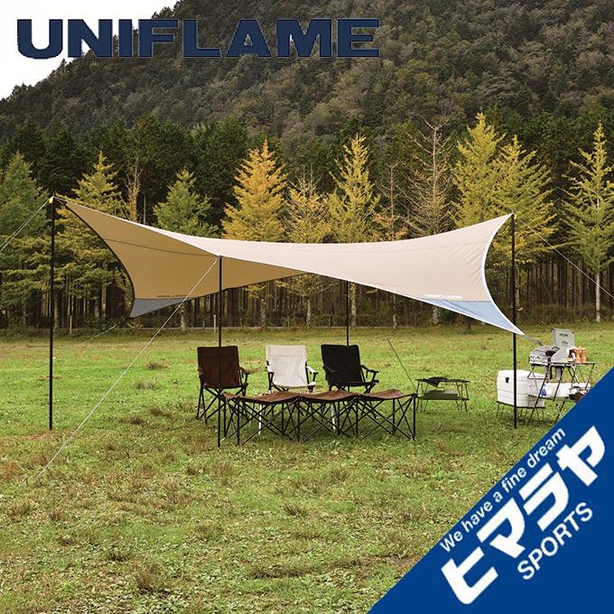 ユニフレーム UNIFLAME タープ Tarp ヘキサタープ REVOタープ2L TAN 681886 od