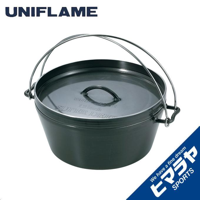 【12/1(日)限定 エントリーでP10倍!】ユニフレーム UNIFLAME ダッチオーブン 12インチ 660997 od