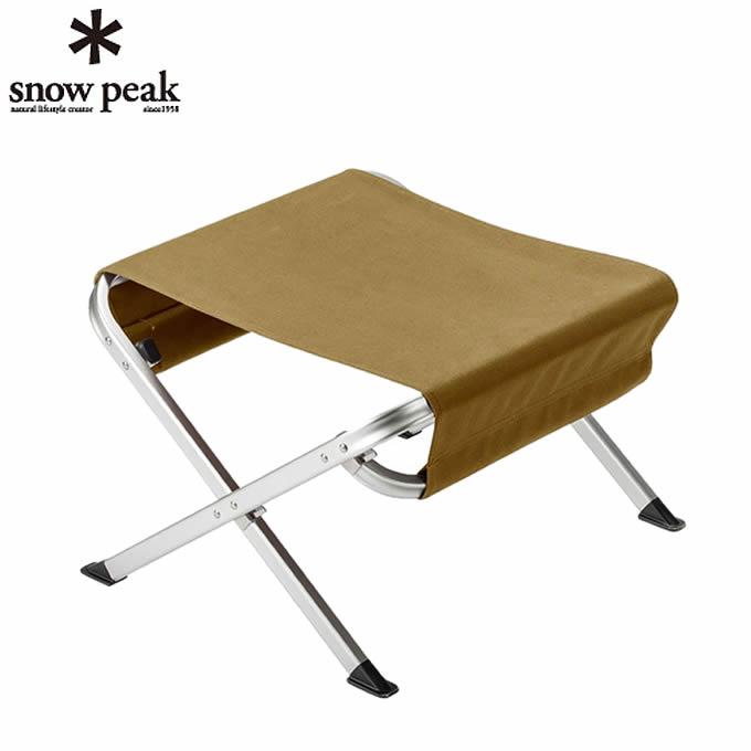 【期間限定5%OFFクーポンでお得にお買い物】 スノーピーク アウトドアチェア ローチェア オットマン LV-103 KH snow peak od