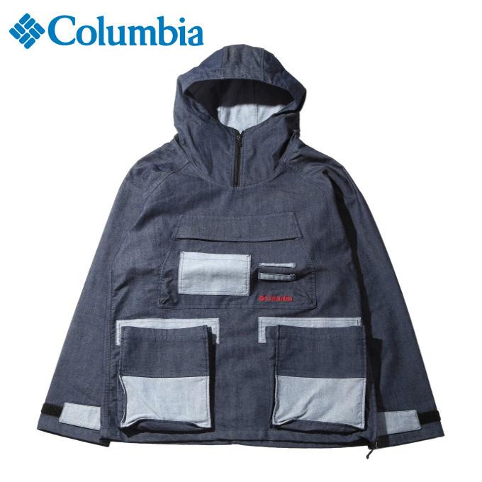 【期間限定5%OFFクーポンでお得にお買い物】 コロンビア アウトドア ジャケット メンズ テントヒルデニムアノラック JK PM3755 425 Columbia od