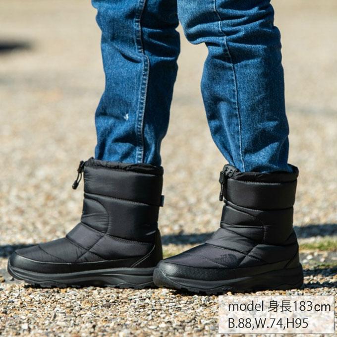 【12/1(日)限定 エントリーでP10倍!】ノースフェイス スノーブーツ 冬靴 メンズ ヌプシ ブーティー ウォータープルーフ VI NF51873 K od