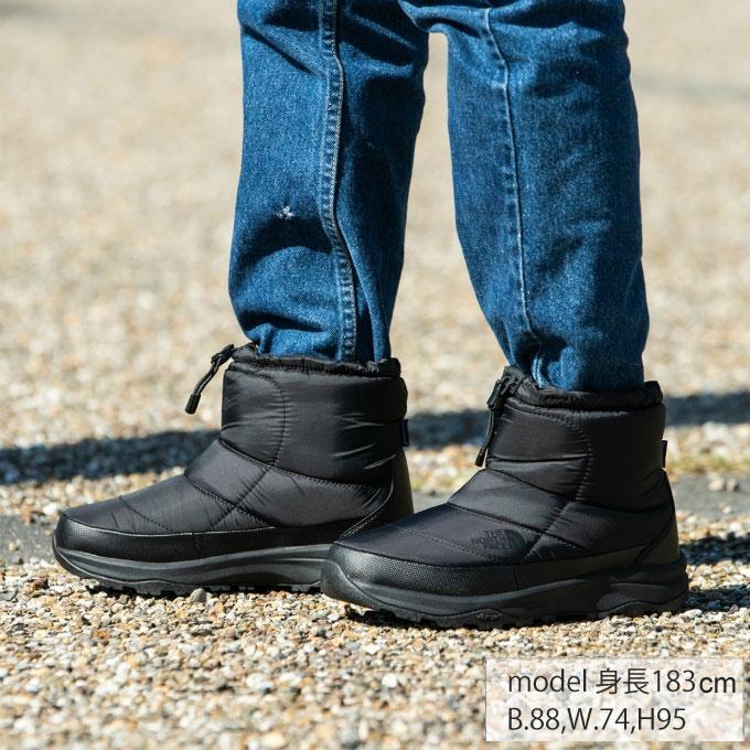 【期間限定5%OFFクーポンでお得にお買い物】 ノースフェイス スノーブーツ 冬靴 メンズ ヌプシ ブーティー ウォータープルーフ VI ショート NF51874 K od