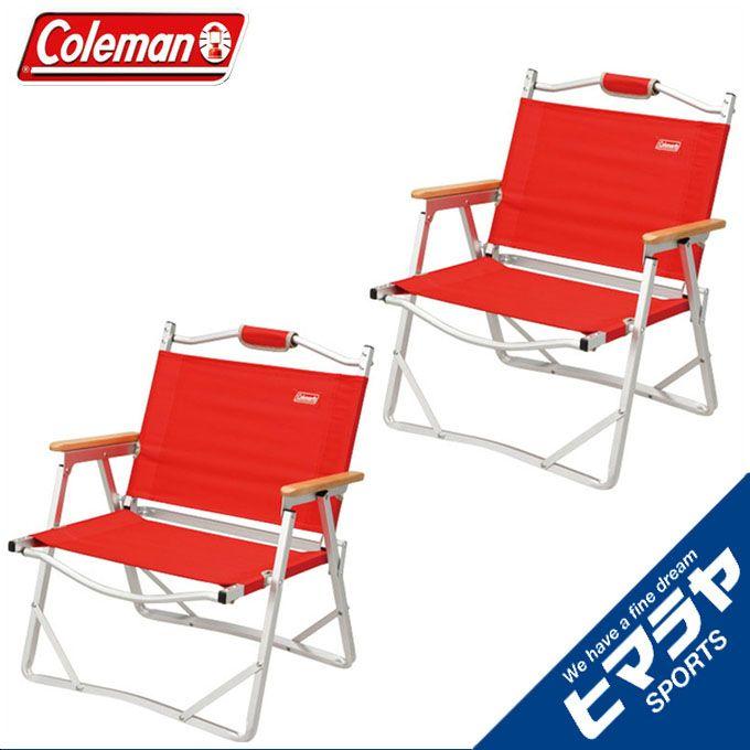 コールマン レッド Coleman チェアコンパクトフォールディングチェア レッド 2個セット170-7670 od Coleman od, オオタケシ:9ed1b262 --- idelivr.ai
