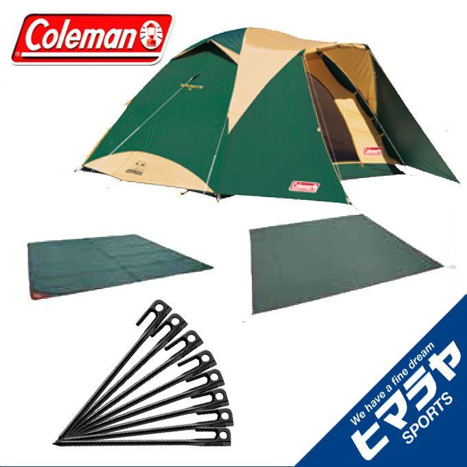 コールマン テント 大型テント タフワイドドームIV/300 スタートパッケージ+スチールソリッドペグ20cm/1PC 8本 2000031859 + 2000017189 coleman od