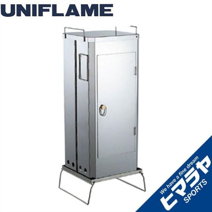 UNIFLAME ユニフレームフォールディングスモーカーFS-600665916アウトドア キャンプ BBQ バーベキュー ストーブ類 アクセ od