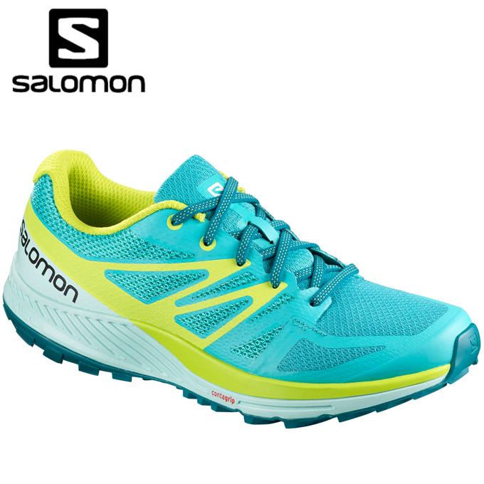 サロモン トレッキングシューズ ローカット レディース センスエスケイプ L40092900 salomon run