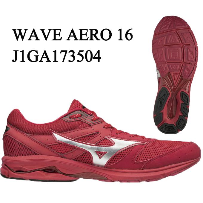 ミズノ MIZUNO ランニングシューズ メンズ ウェーブエアロ16 WAVE AERO 16 J1GA173504 run