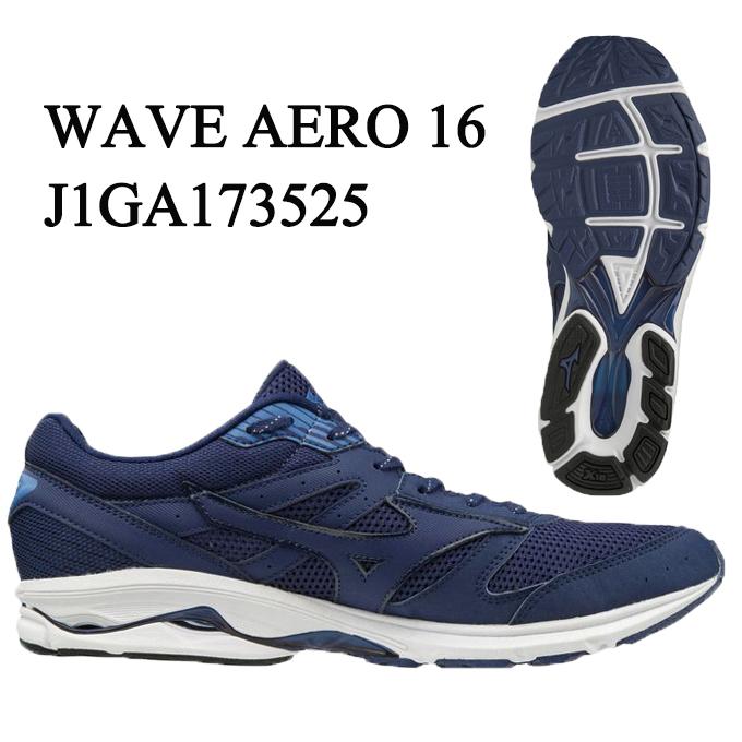 ミズノ MIZUNO ランニングシューズ メンズ ウェーブエアロ16 WAVE AERO 16 J1GA173525 run