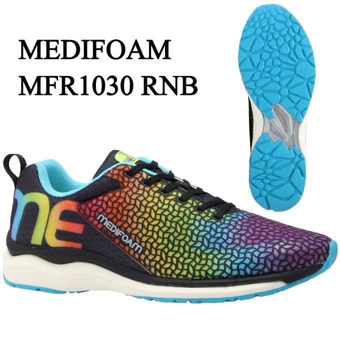 【感謝祭期間限定全品10%OFFクーポン発行中】 メディフォーム MEDIFOAM ランニングシューズ メンズ MFR1030 MFR1030 RNB run