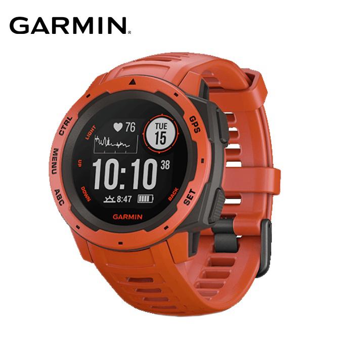 ガーミン ランニングウォッチ メンズ レディース Instinct Flame Red 010-02064-32 GARMIN run