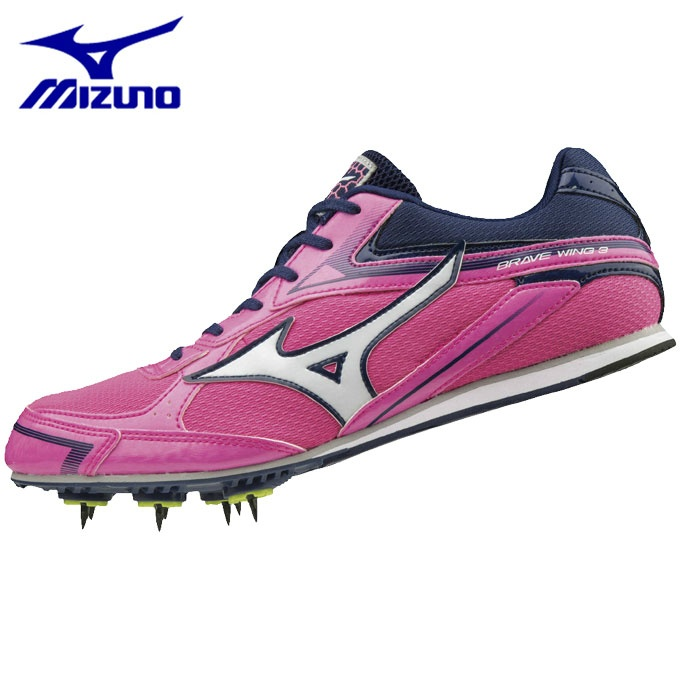 ミズノ 陸上スパイク オールラウンド メンズ レディース ブレイブウィング3 陸上競技 ユニセックス U1GA183061 MIZUNO run
