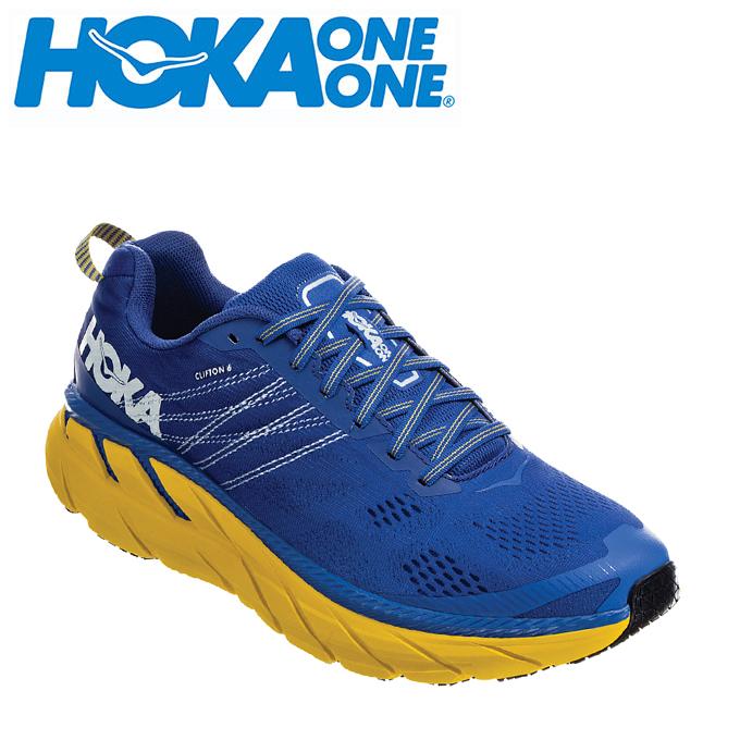 ホカ オネオネ HOKA ONEONE ランニングシューズ メンズ CLIFTON 6 クリフトン 1102872 NBLM run
