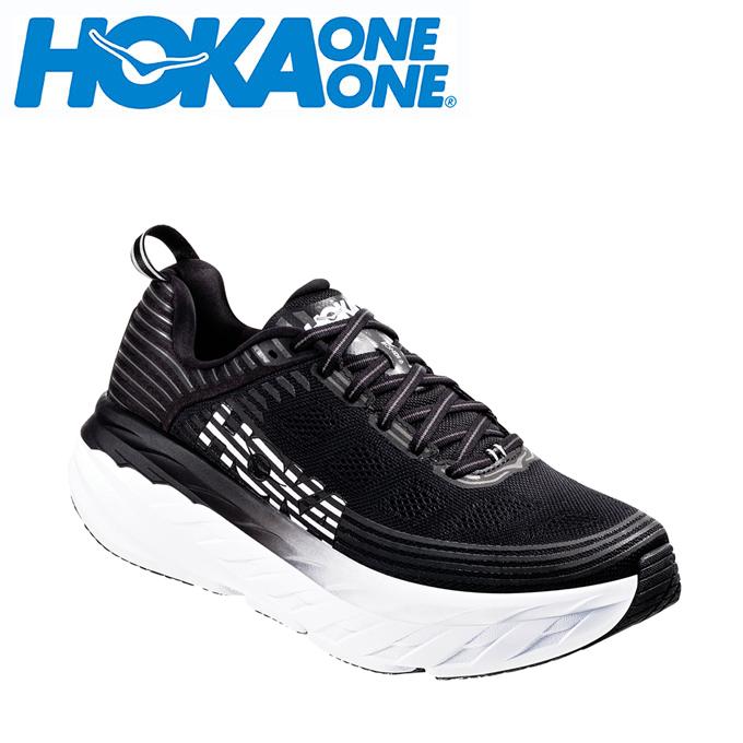 ホカ オネオネ HOKA ONEONE ランニングシューズ メンズ ボンダイ6 BONDI 6 1019269 BLK run