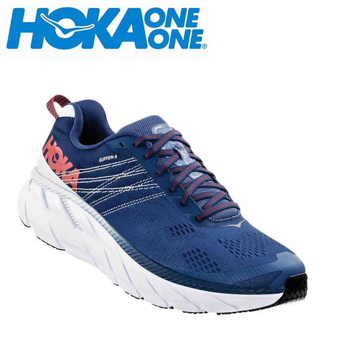 ホカ オネオネ HOKA ONEONE ランニングシューズ メンズ CLIFTON 6 クリフトン 1102876 EBPA run