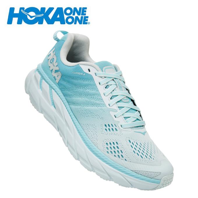 ホカ オネオネ HOKA ONEONE ランニングシューズ レディース ウィメンズ クリフトン 6 ワイド CLIFTON 6 WIDE 1102877 ASWB run