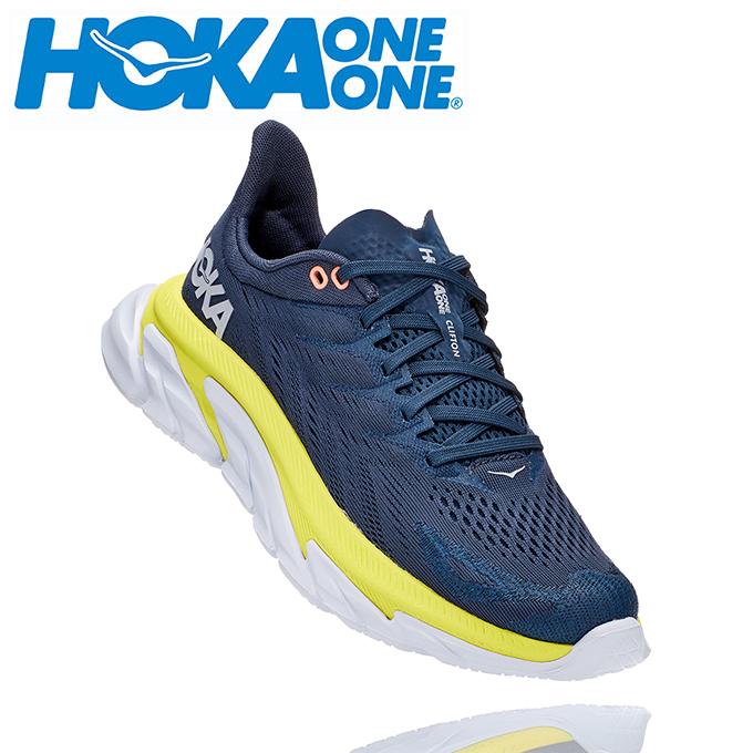 ホカ オネオネ HOKA ONEONE ランニングシューズ レディース CLIFTON EDGE W 1110511 MOEP run