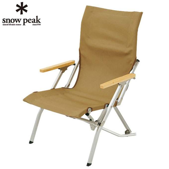スノーピーク snow peak アウトドアチェア ローチェア30カーキ LV-091KH sc