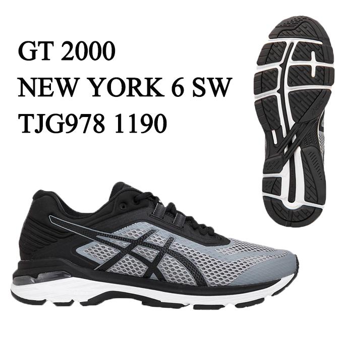 アシックス asics ランニングシューズ アップシューズ メンズ GT-2000 NEW YORK 6-SW TJG978 1190 GT2000-6 sc
